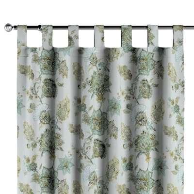Záves na pútkach V kolekcii Flowers, tkanina: 143-67