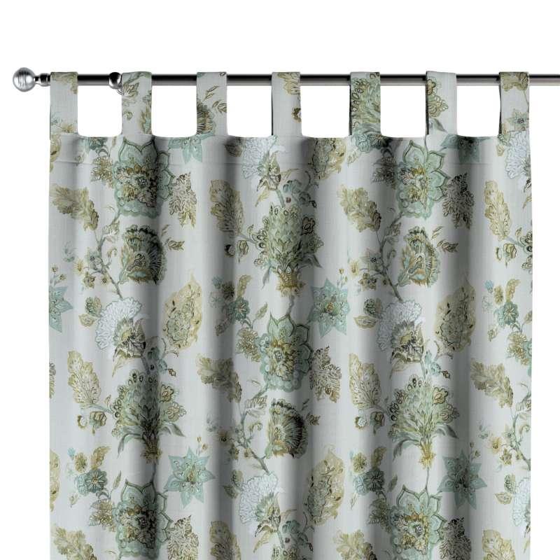 Zasłona na szelkach 1 szt. w kolekcji Flowers, tkanina: 143-67
