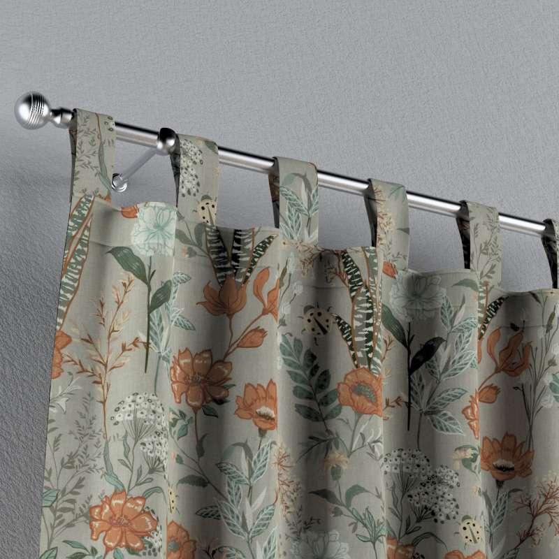 Záves na pútkach V kolekcii Flowers, tkanina: 143-70
