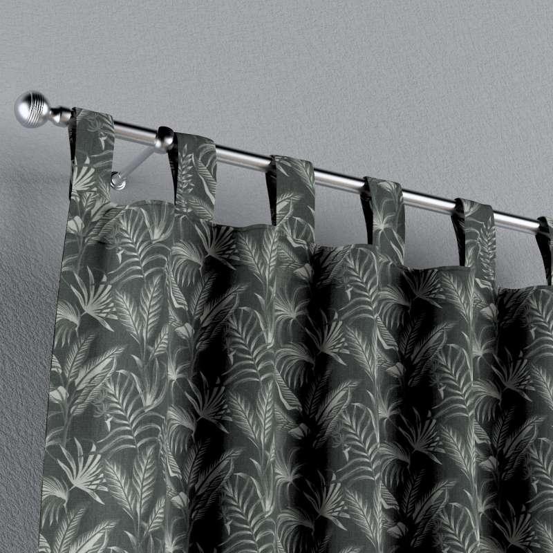 Záves na pútkach V kolekcii Flowers, tkanina: 143-73
