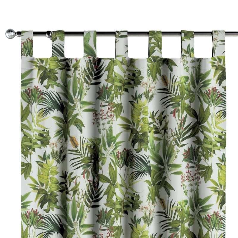 Záves na pútkach V kolekcii Tropical Island, tkanina: 143-69