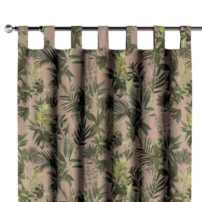 Záves na pútkach V kolekcii Tropical Island, tkanina: 143-71
