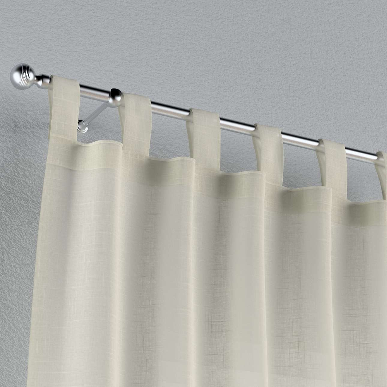 Tab top curtains 130 × 260 cm (51 × 102 inch) in collection Romantica, fabric: 128-88