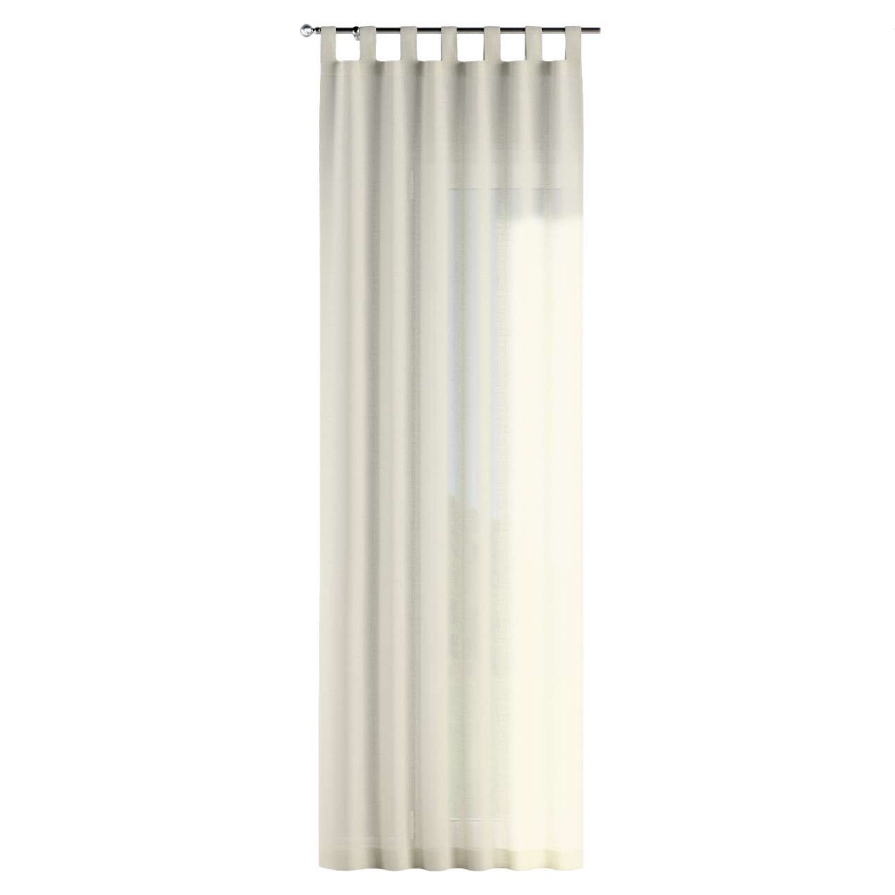 Gardin med stropper 130 x 260 cm fra kollektionen Romantik, Stof: 128-88