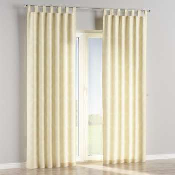 Tab top curtains in collection Damasco, fabric: 613-01