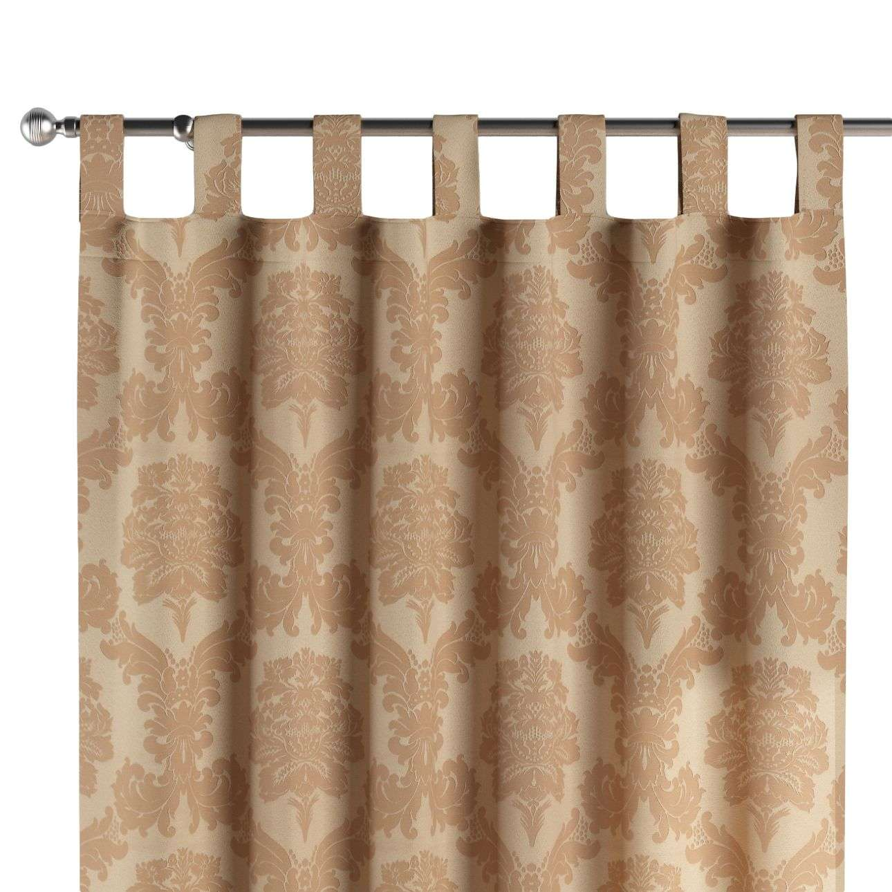Zasłona na szelkach 1 szt. 1szt 130x260 cm w kolekcji Damasco, tkanina: 613-04