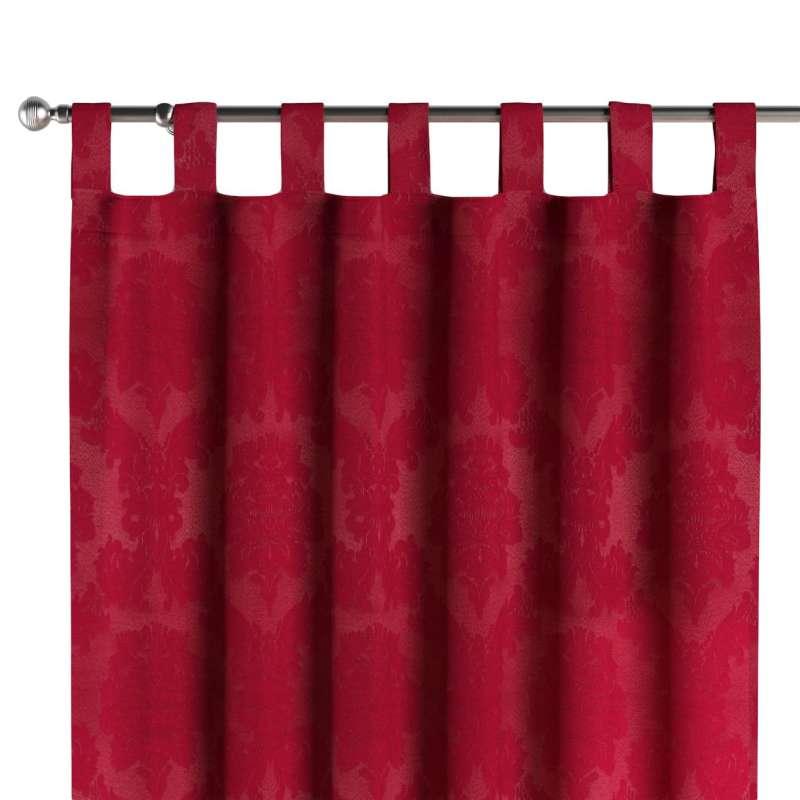 Gardin med stropper 1 stk. fra kollektionen Damasco, Stof: 613-13