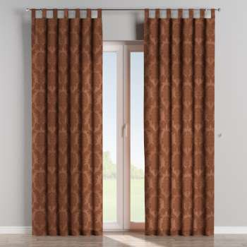 Tab top curtains in collection Damasco, fabric: 613-88