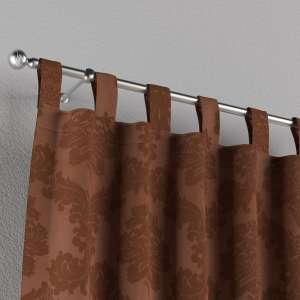 Gardin med hällor 1 längd 130 x 260 cm i kollektionen Damasco, Tyg: 613-88