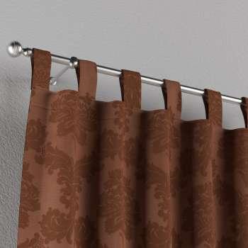 Gardin med stropper 1 stk. 130 × 260 cm fra kolleksjonen Damasco, Stoffets bredde: 613-88