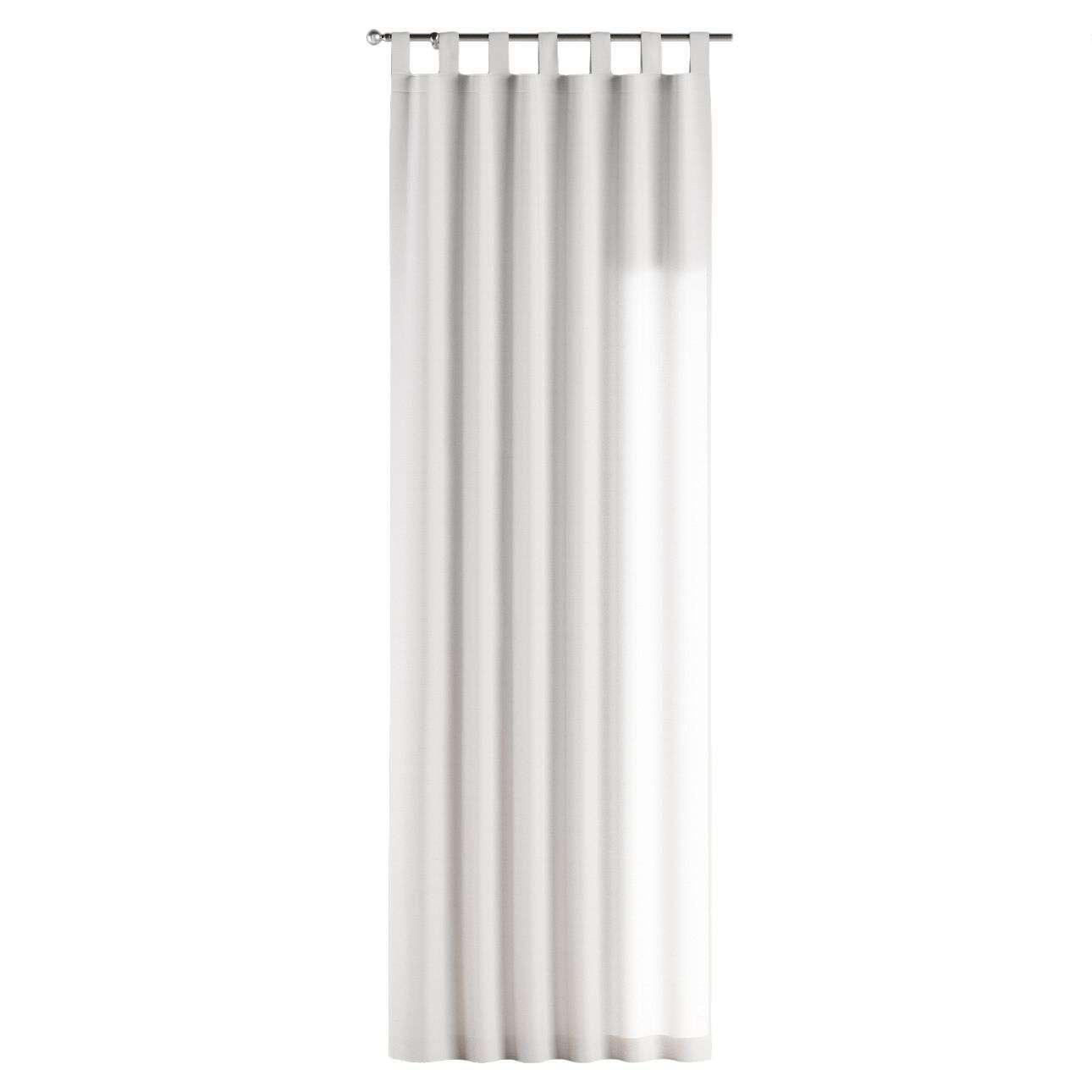Gardin med stropper 1 stk. 130 × 260 cm fra kolleksjonen Jupiter, Stoffets bredde: 127-01