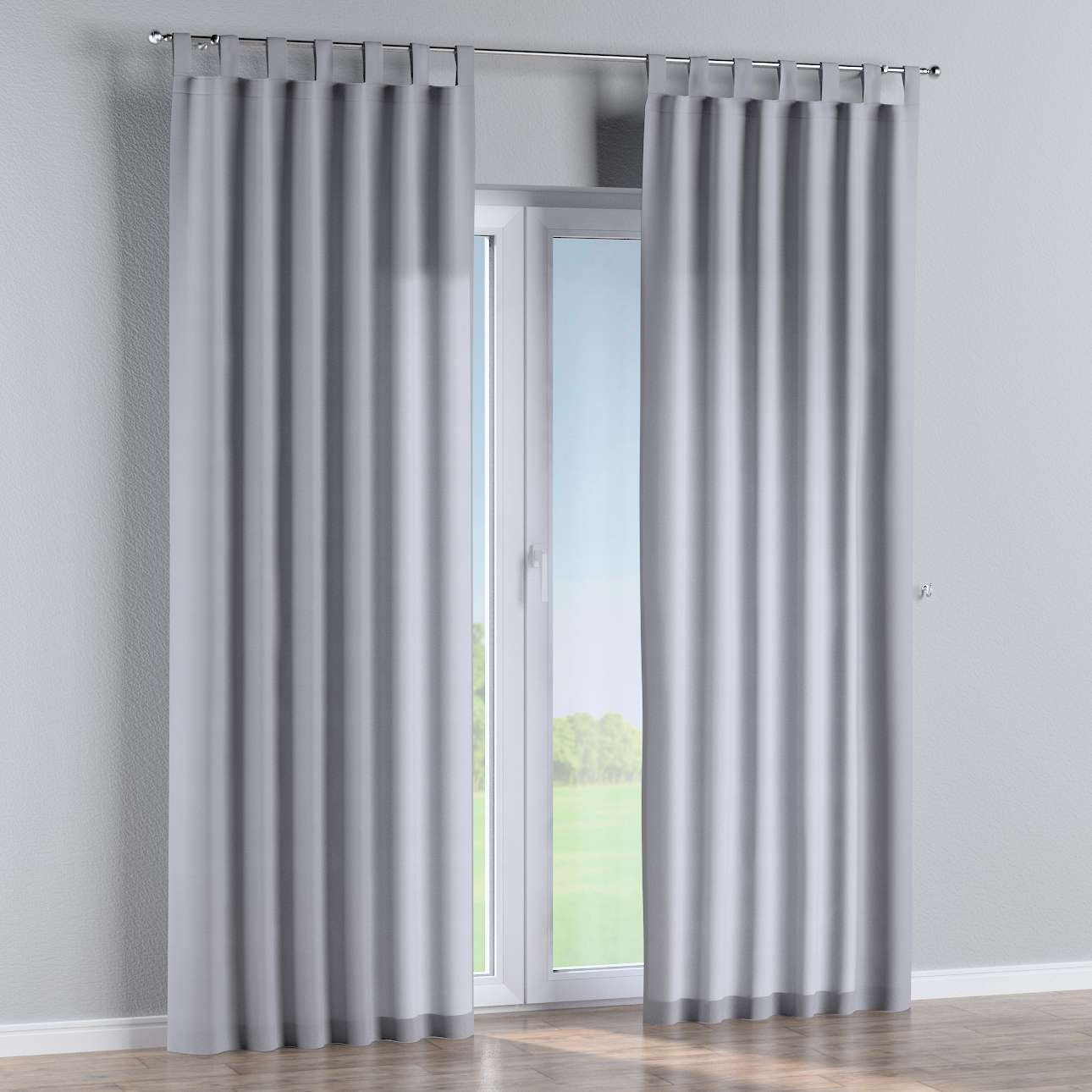 Tab top curtains in collection Jupiter, fabric: 127-92