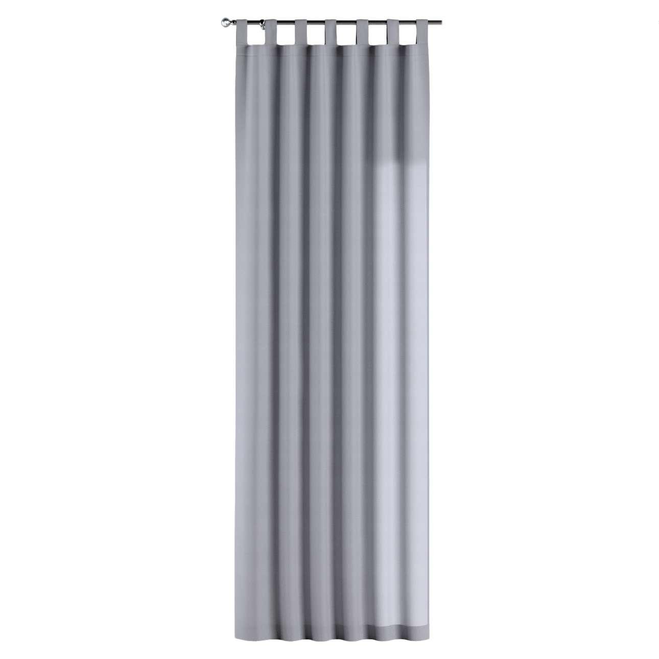 Gardin med hällor 1 längd 130 × 260 cm i kollektionen Jupiter, Tyg: 127-92