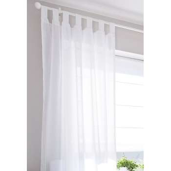Tab top curtains 130 × 260 cm (51 × 102 inch) in collection Romantica, fabric: 128-77