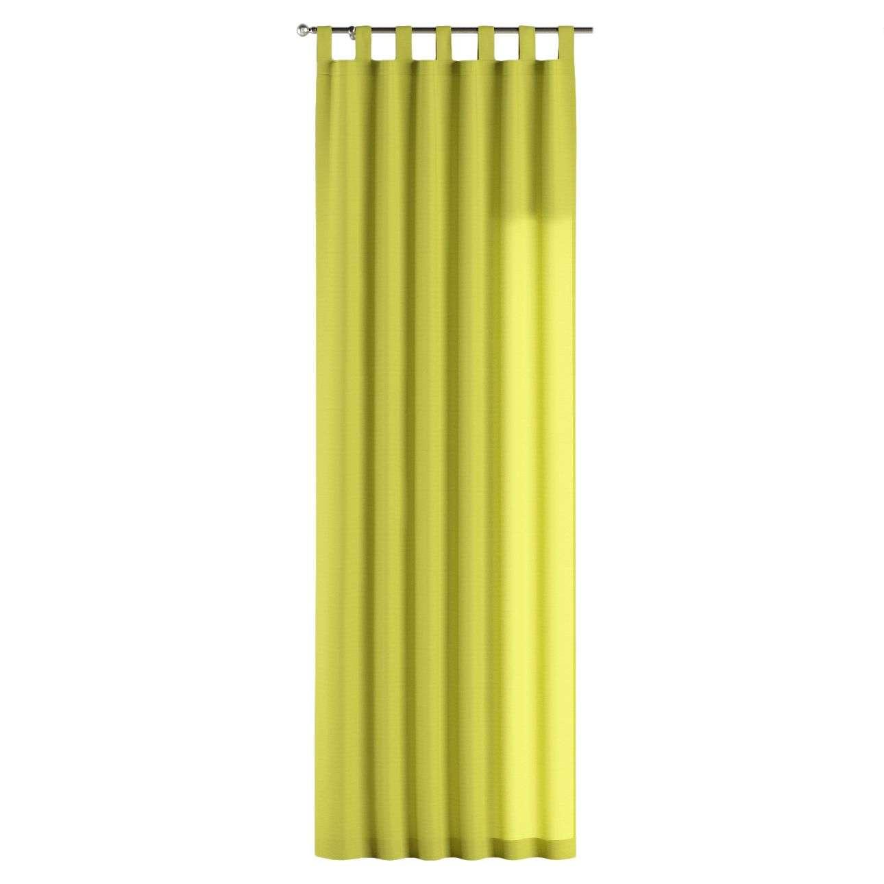 Gardin med hällor 1 längd 130 x 260 cm i kollektionen Jupiter, Tyg: 127-50