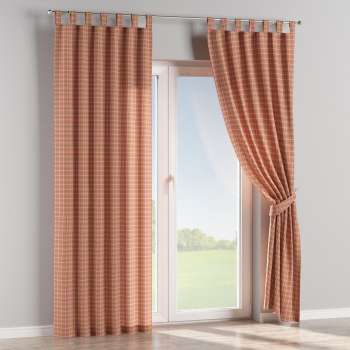 Tab top curtains 130 x 260 cm (51 x 102 inch) in collection Bristol, fabric: 126-25