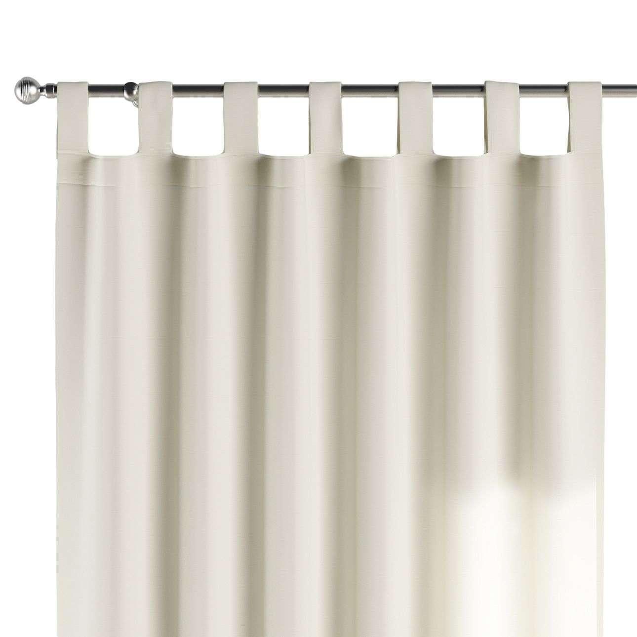Gardin med hällor 1 längd 130 x 260 cm i kollektionen Jupiter, Tyg: 127-00