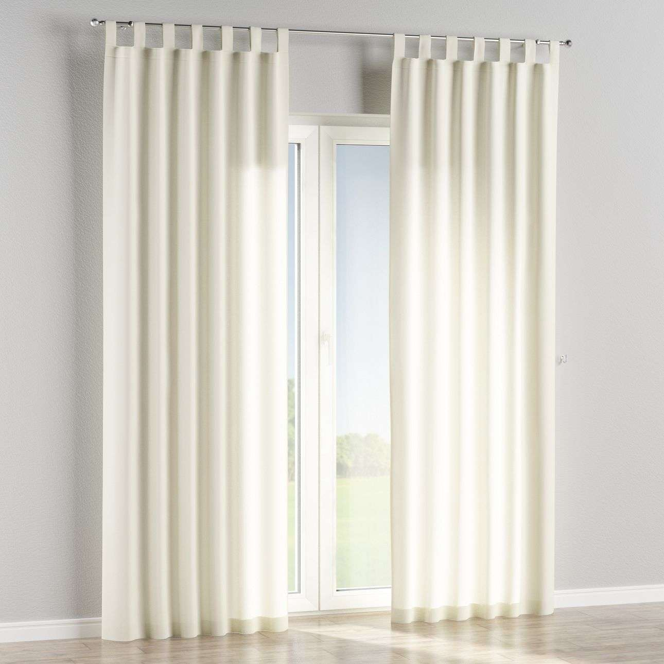 Tab top curtains in collection Jupiter, fabric: 127-00