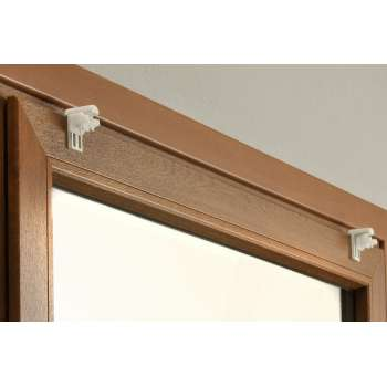 Window Frame Blind Fittings – 2 pieces per set 4 x 6 cm (1,5 x 2,5 inch)