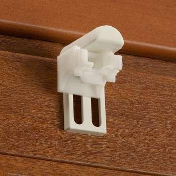 Romanečių/roletų tvirtinimo prie lango rėmo priedai - 2 vnt. rinkinyje 4 × 6 cm