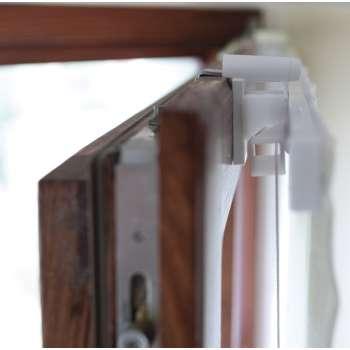 Upphäng till fönster till hissgardiner 4 x 6 cm