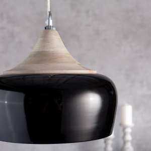 Lampe Madrid Black 34cm