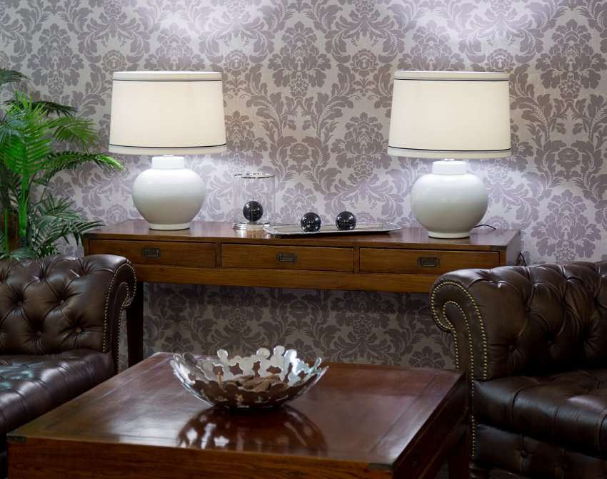 Lampa stołowa Mika ceramiczna 60cm 60cm