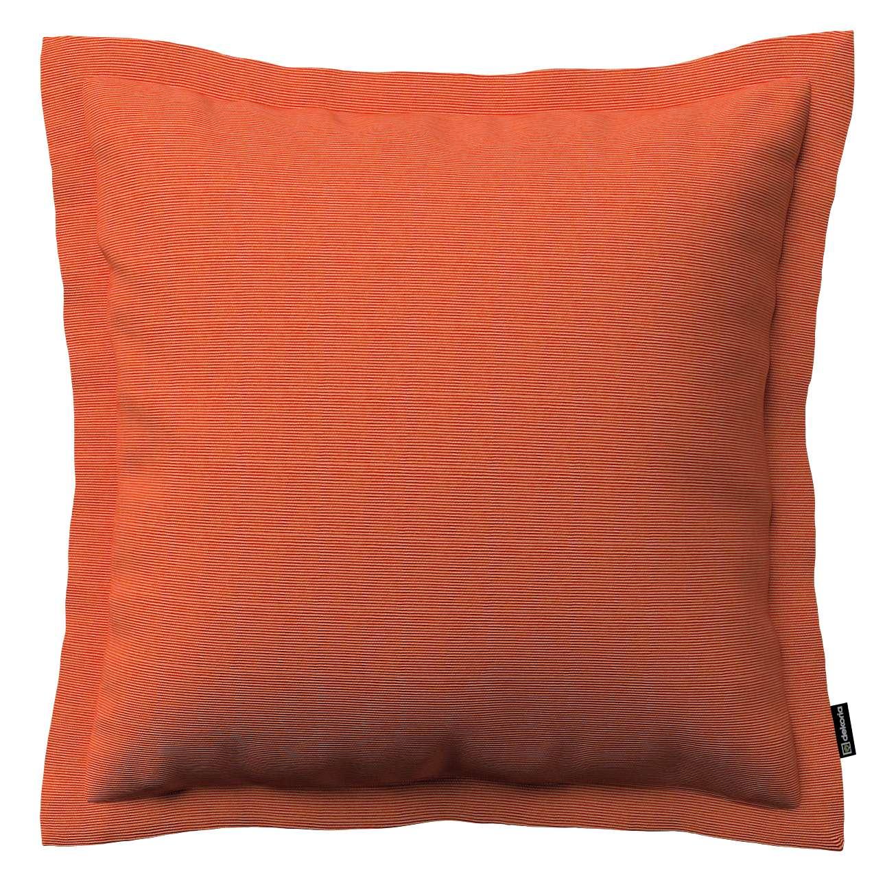 Mona dekoratyvinių pagalvėlių užvalkalas su sienele 45 x 45cm kolekcijoje Jupiter, audinys: 127-35