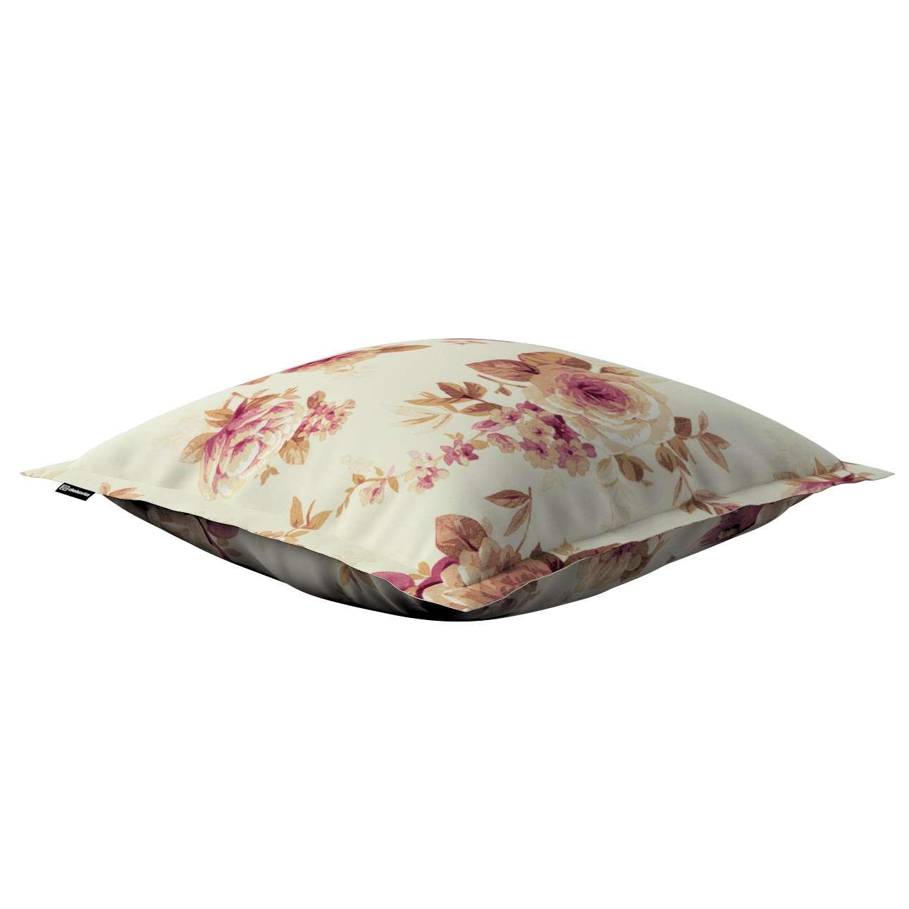 Mona dekoratyvinių pagalvėlių užvalkalas su sienele 45 x 45cm kolekcijoje Mirella, audinys: 141-06