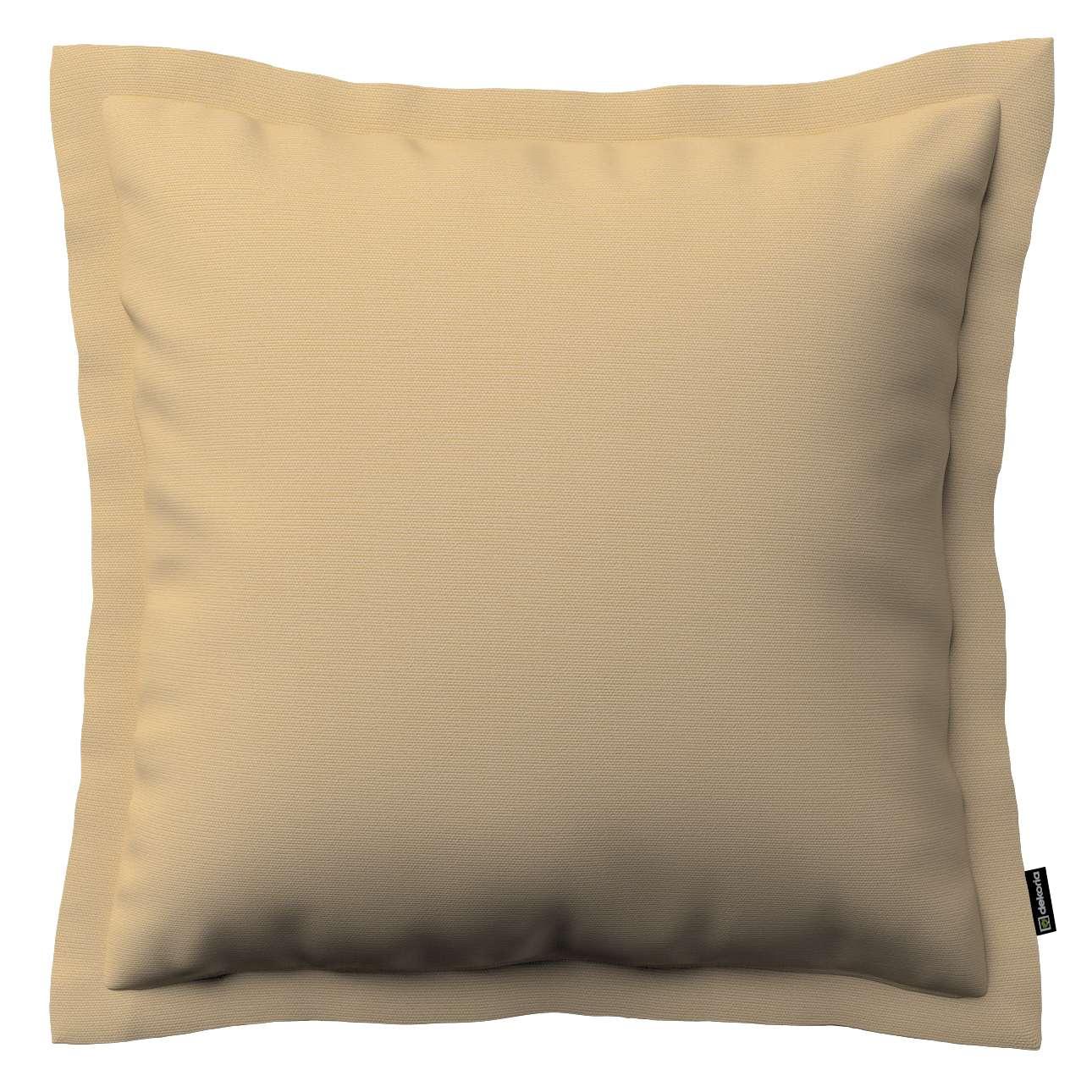 Kissenhülle Mona mit Stehsaum von der Kollektion Cotton Panama, Stoff: 702-01