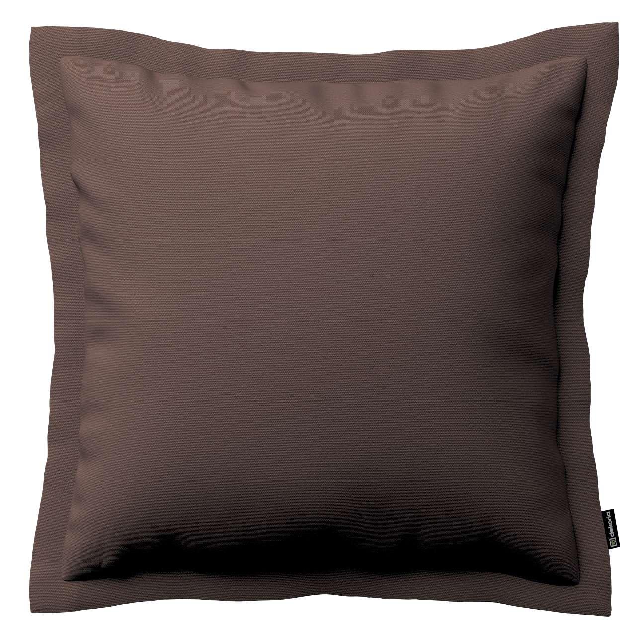 Mona dekoratyvinių pagalvėlių užvalkalas su sienele 45 x 45cm kolekcijoje Cotton Panama, audinys: 702-03