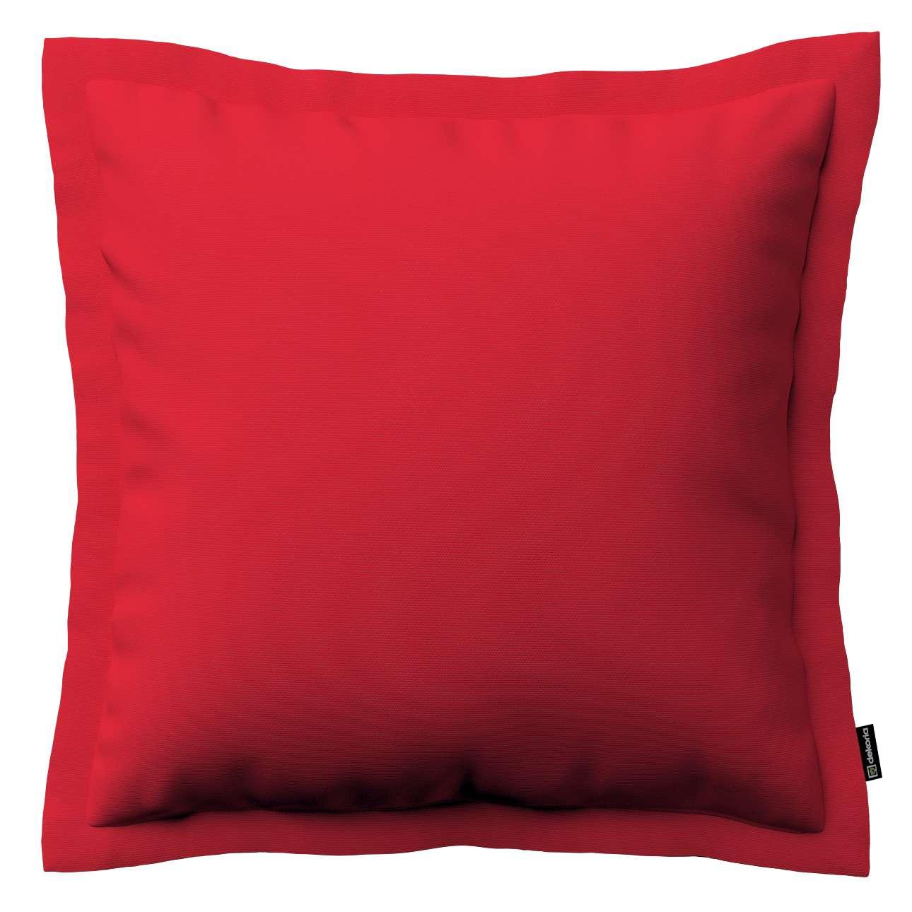 Mona dekoratyvinių pagalvėlių užvalkalas su sienele 45 x 45cm kolekcijoje Cotton Panama, audinys: 702-04