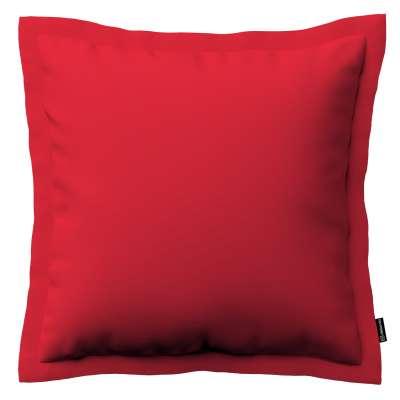 Pudebetræk<br/>Mona med ståsøm 702-04 Rød Kollektion Cotton Panama