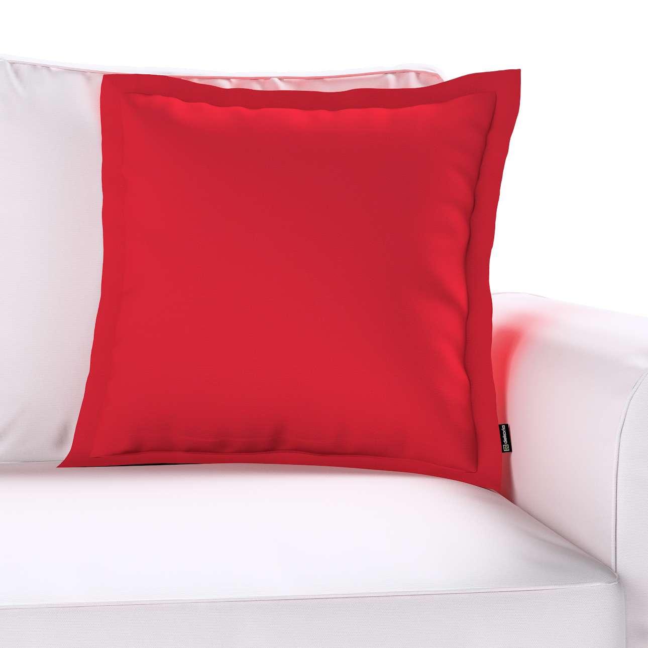 Mona dekoratyvinių pagalvėlių užvalkalas su sienele kolekcijoje Cotton Panama, audinys: 702-04