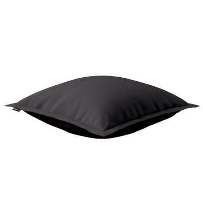 Mona dekoratyvinių pagalvėlių užvalkalas su sienele 702-09 juoda Kolekcija Cotton Panama