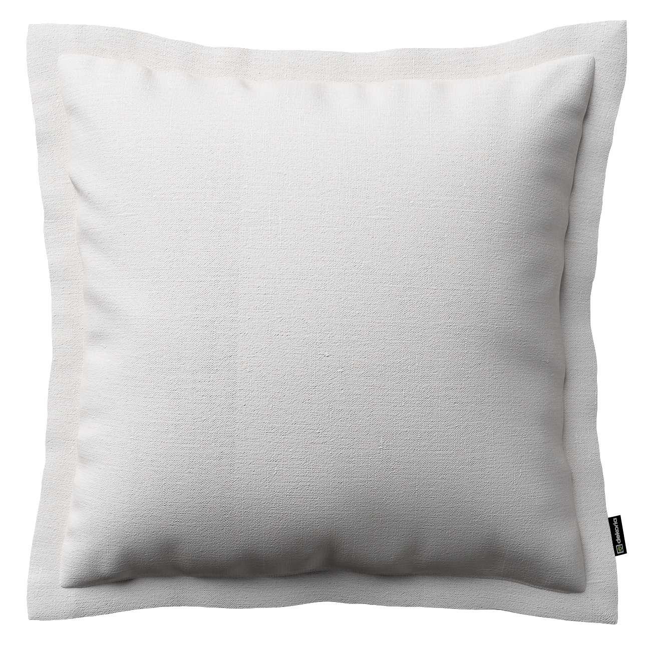 Mona dekoratyvinių pagalvėlių užvalkalas su sienele 38 x 38 cm kolekcijoje Linen , audinys: 392-04