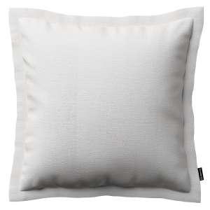 Mona dekoratyvinių pagalvėlių užvalkalas su sienele 45 x 45cm kolekcijoje Linen , audinys: 392-04