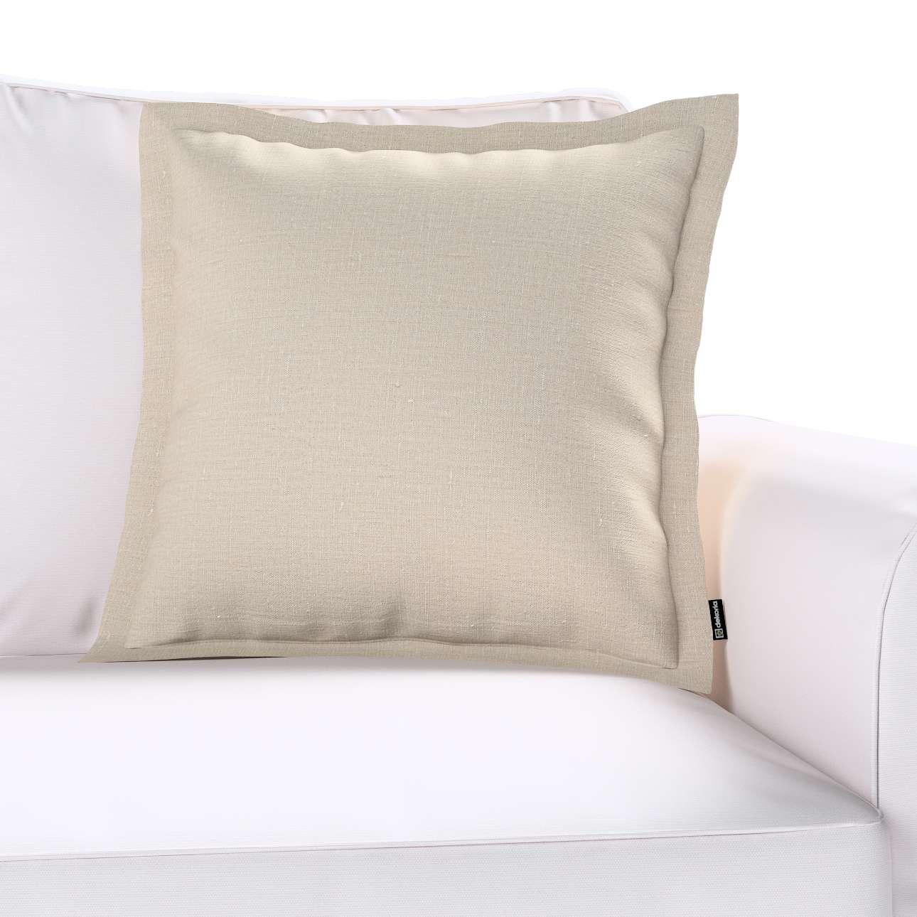 Poszewka Mona na poduszkę w kolekcji Linen, tkanina: 392-05