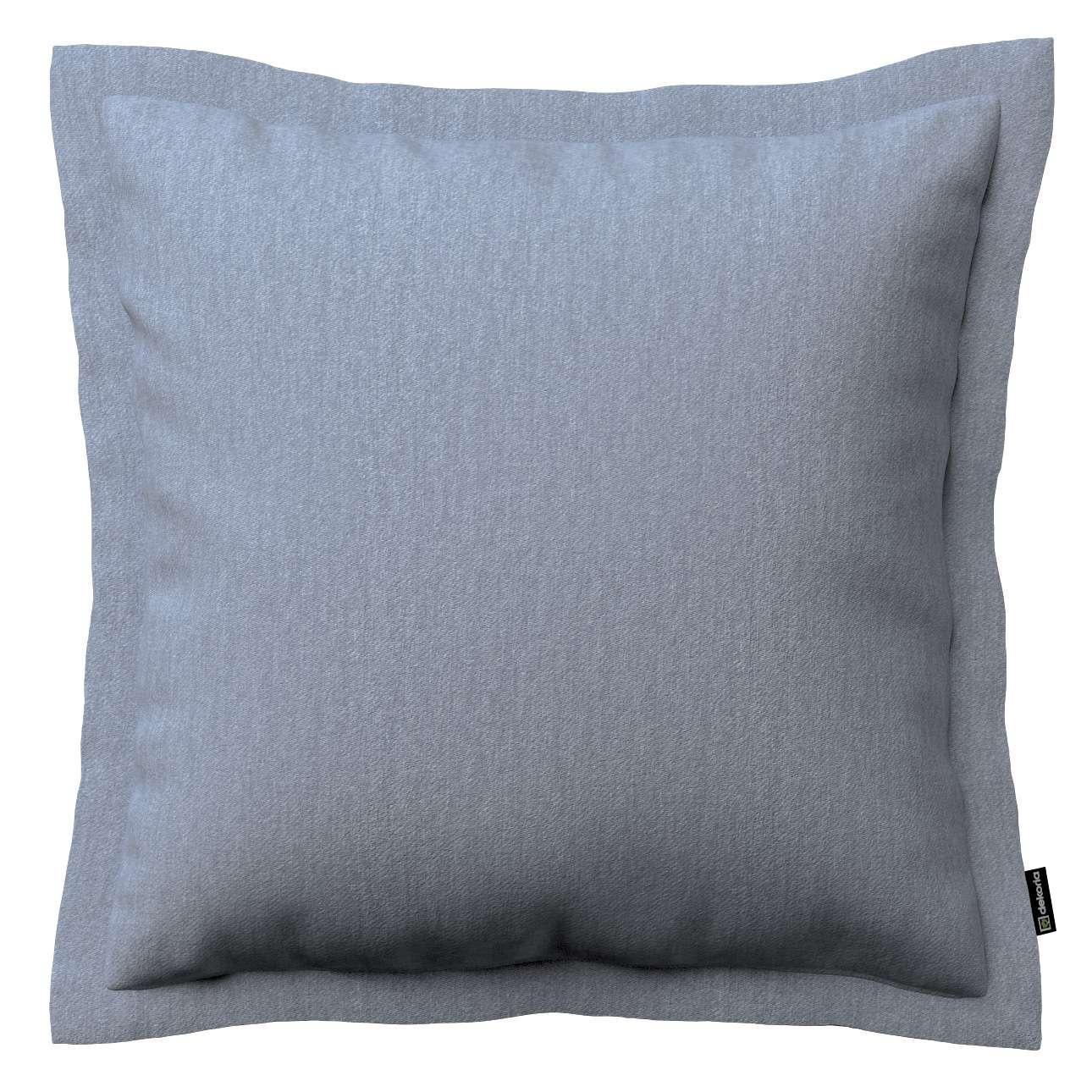 Mona dekoratyvinių pagalvėlių užvalkalas su sienele 38 x 38 cm kolekcijoje Chenille, audinys: 702-13