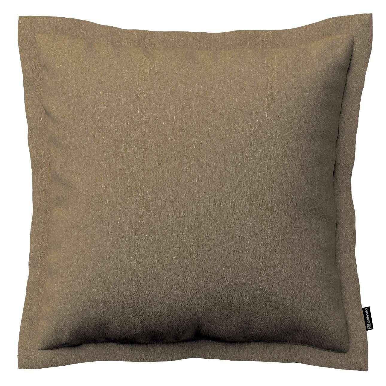 Mona dekoratyvinių pagalvėlių užvalkalas su sienele 38 x 38 cm kolekcijoje Chenille, audinys: 702-21