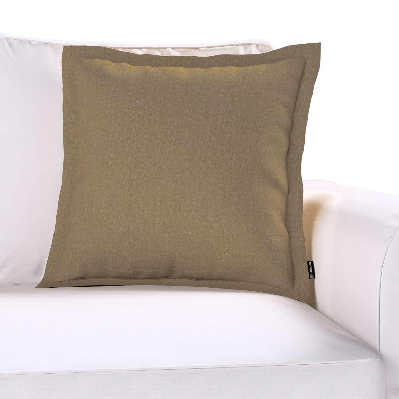 Mona dekoratyvinių pagalvėlių užvalkalas su sienele kolekcijoje Chenille, audinys: 702-21