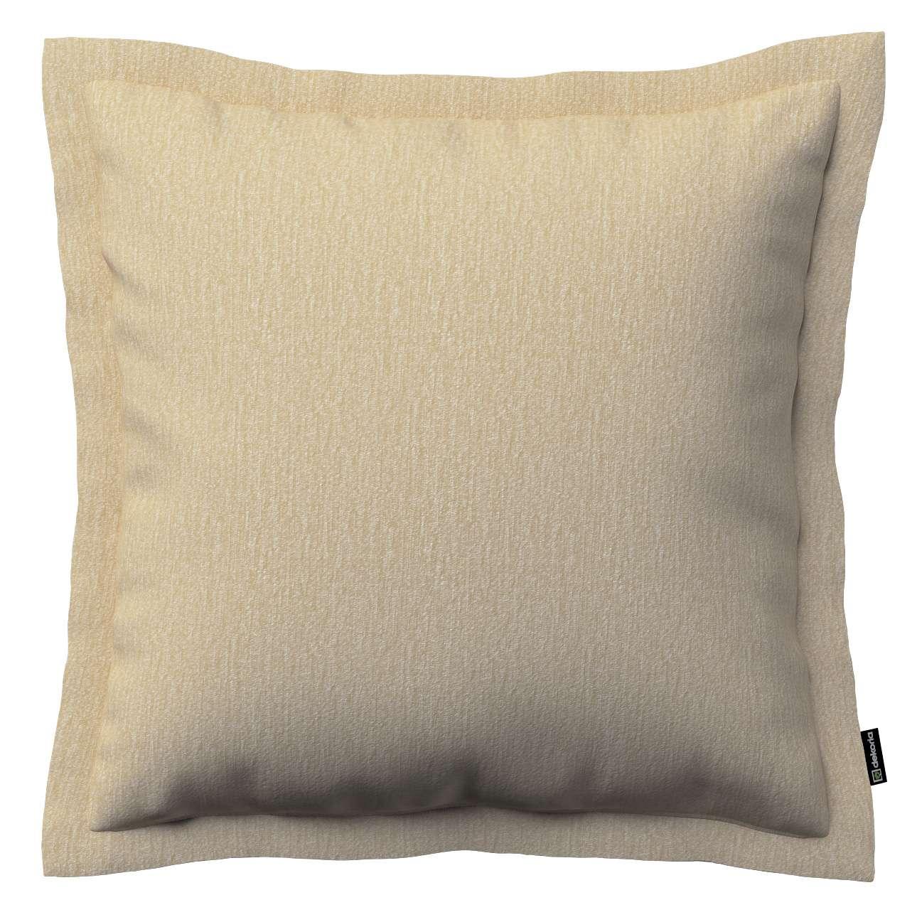 Mona dekoratyvinių pagalvėlių užvalkalas su sienele 45 x 45cm kolekcijoje Chenille, audinys: 702-22