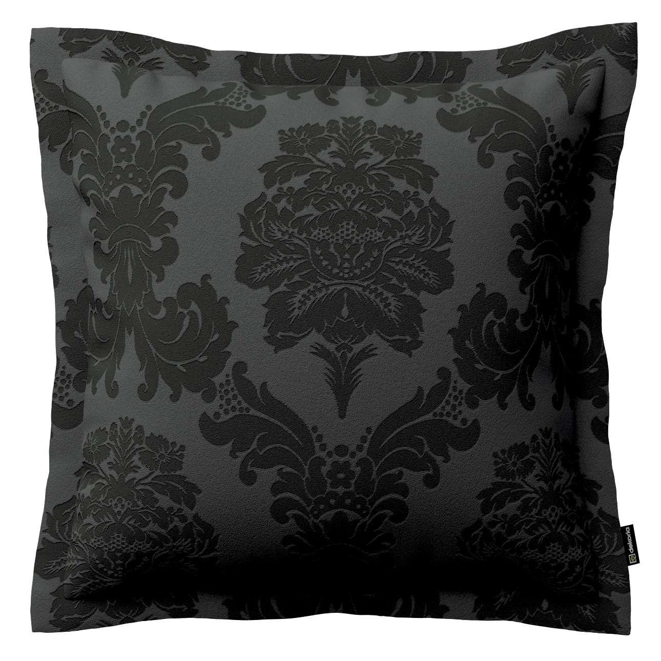 Mona dekoratyvinių pagalvėlių užvalkalas su sienele 38 x 38 cm kolekcijoje Damasco, audinys: 613-32