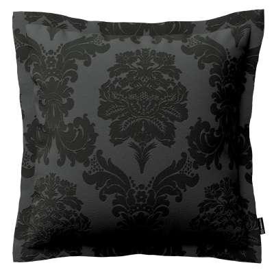 Mona dekoratyvinių pagalvėlių užvalkalas su sienele 613-32 juoda Kolekcija Damasco
