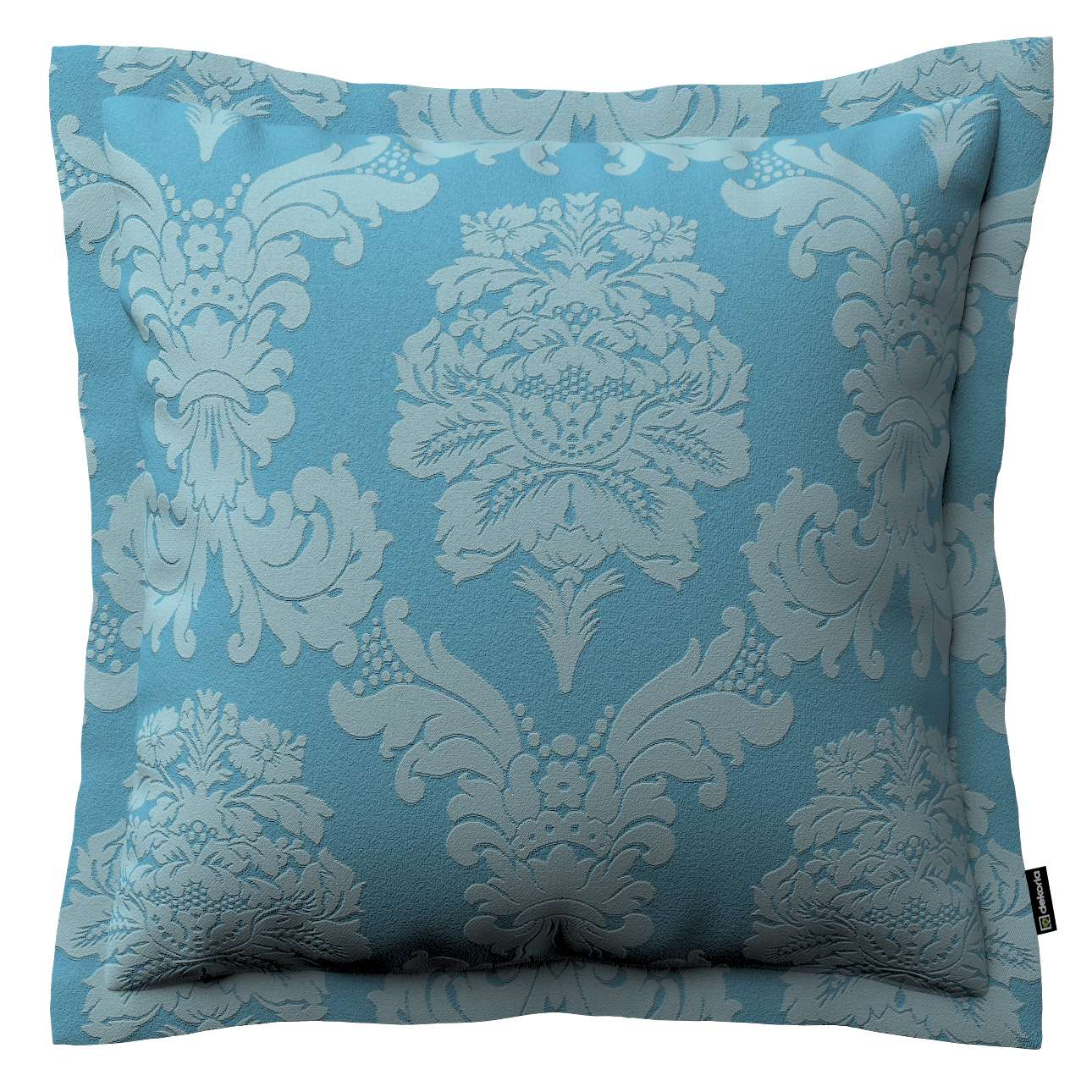 Mona dekoratyvinių pagalvėlių užvalkalas su sienele 38 x 38 cm kolekcijoje Damasco, audinys: 613-67