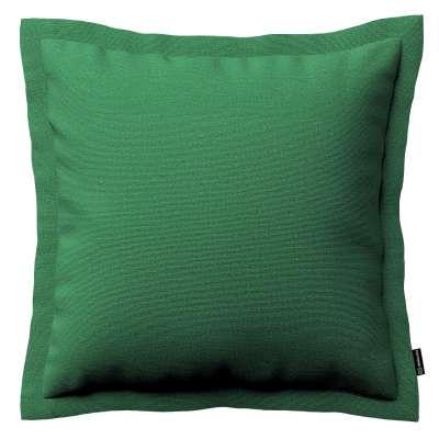 Mona dekoratyvinių pagalvėlių užvalkalas su sienele 133-18 tamsiai žalia Kolekcija Loneta