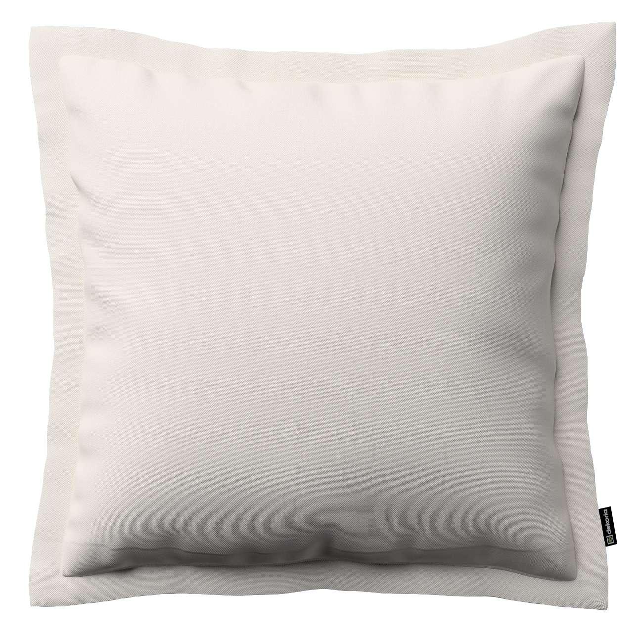 Mona dekoratyvinių pagalvėlių užvalkalas su sienele 38 x 38 cm kolekcijoje Etna , audinys: 705-01