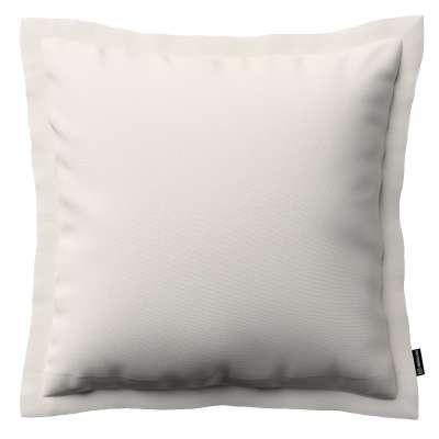 Poszewka Mona na poduszkę 705-01 kremowa biel Kolekcja Etna