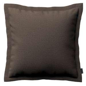 Mona dekoratyvinių pagalvėlių užvalkalas su sienele 45 x 45cm kolekcijoje Etna , audinys: 705-08