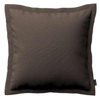 Poszewka Mona na poduszkę 705-08 brązowy Kolekcja Etna